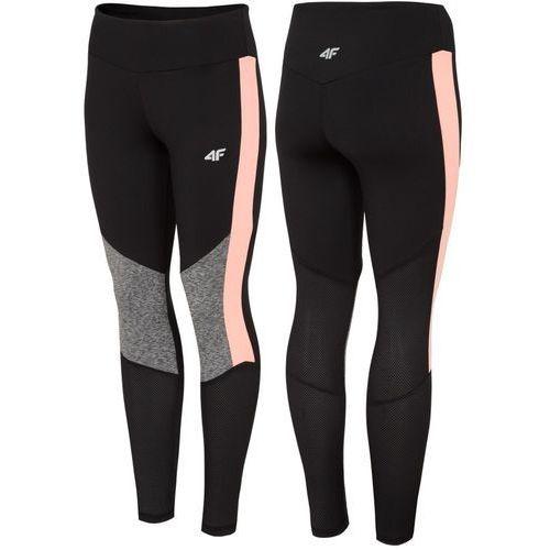 4f Legginsy fitness jogging l18 spdf005 czarny l