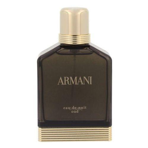 Giorgio armani Eau de nuit oud - woda perfumowana