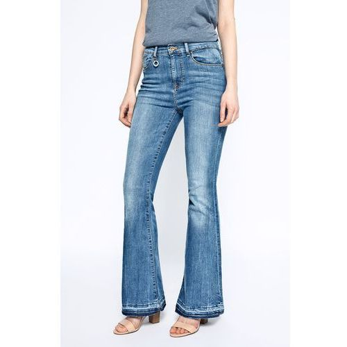 Only - Jeansy Rio Raw High Retro Flared