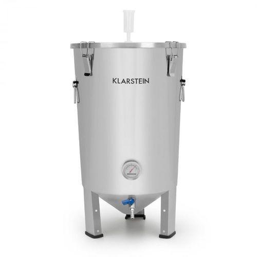 Klarstein gärkeller kocioł do fermentacji 30 l rurka fermentacyjna termometr stal szlachetna 304