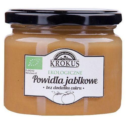 Ekologiczne Powidła Jabłkowe Bez Dodatku Cukru 310g - Krokus (5906732626608)