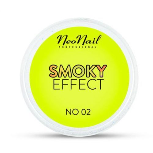 OKAZJA - Neonail smoky effect pyłek no 02 (żółty)