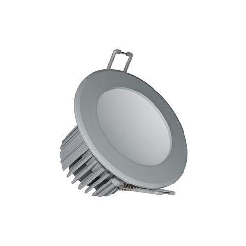 ldl213 - led łazienkowa oprawa wpuszczana led/7w/230v 2800k szary marki Nedes