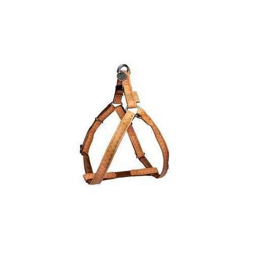 Zolux Szelki regulowane Mac Leather 25mm Żółte [522065JA] (3484152206577)