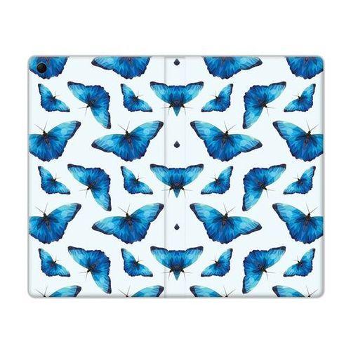 Etuo.pl Flex book fantastic - lenovo tab 3 7.0 (a7-30) - etui na tablet flex book fantastic - niebieskie motyle