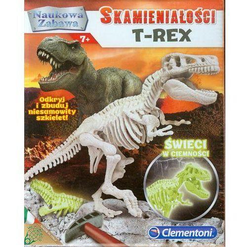 skamieniałośc i t-rexfluoroscencyjny marki Clementoni