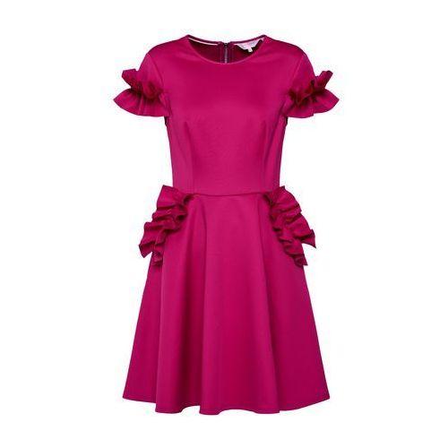 Ted baker sukienka koktajlowa 'luuciee' fioletowy