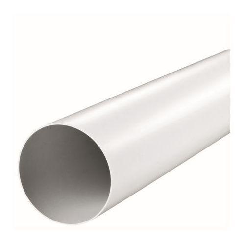 Kanał okrągły Vents fi 100 mm 150 cm biały (5907641451459)