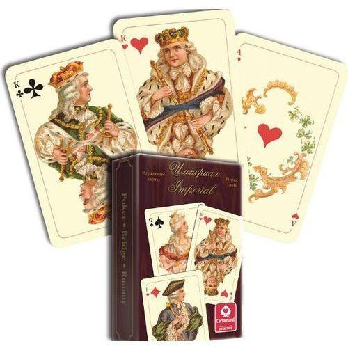 Karty do gry zestaw brydżowy imperial 1x55 marki Cartamundi