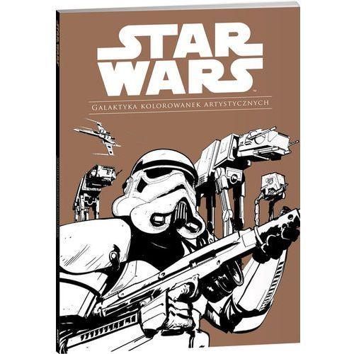 Star Wars. Galaktyka kolorowanek artystycznych [25x36 cm]