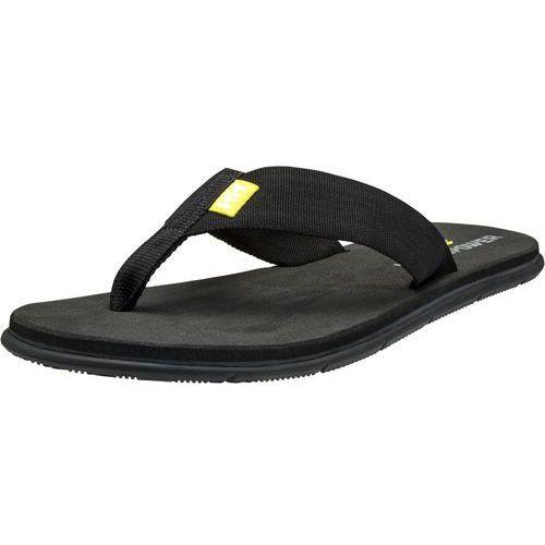 Helly hansen japonki damskie seasand hp black/electric yellow 45