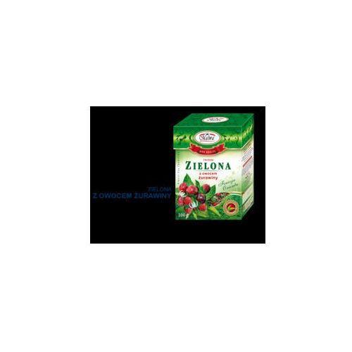 Malwa Herbata zielona z owocem żurawiny 100 g (5902781001892)