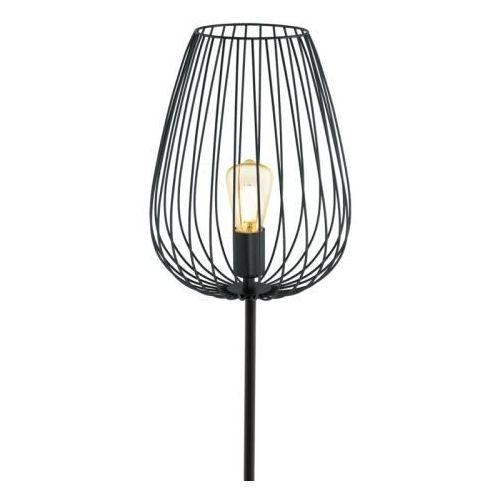 Eglo Lampa podłogowa newtown 49474 druciana oprawa metalowa vintage drut czarny
