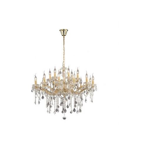 Ideal lux Żyrandol florian sp18 oro