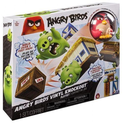 Angry birds - vinylowy zestaw angry nokaut izimarket.pl marki Spin master