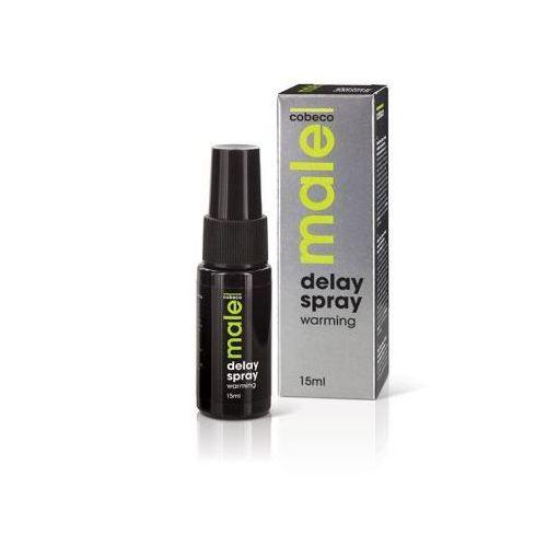 Spray opóźniający - Male Delay Spray Warming 15 ml, ML020A