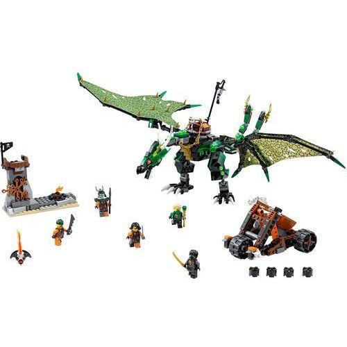 LEGO NINJAGO, Zielony smok NRG, 70593