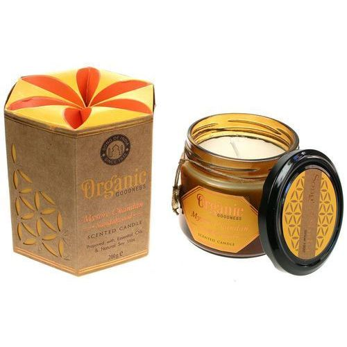Song of India sojowa świeca zapachowa Mysore Chandan Sandalwood 200g (8903833901358)