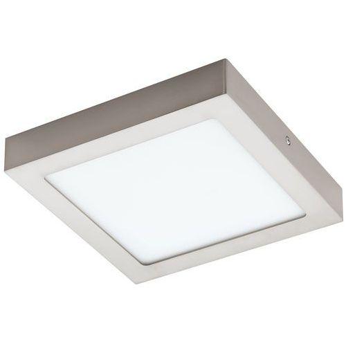 Plafon LAMPA sufitowa FUEVA 1 94526 Eglo natynkowa OPRAWA LED 16W kwadratowa nikiel satynowany, kolor nikiel