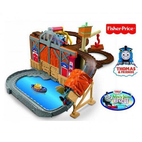 Fisher Price - Tomek Zestaw TOR Ucieczka WYSPA MGIEŁ - produkt z kategorii- Kolejki i tory dla dzieci