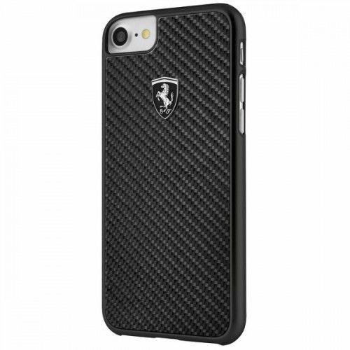 Ferrari fehcahcp7bk hardcase iphone 7/8 czarny carbon heritage (3700740398432)