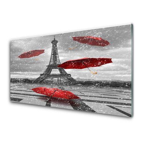 Obraz szklany wieża eiffla paryż parasolka marki Tulup.pl