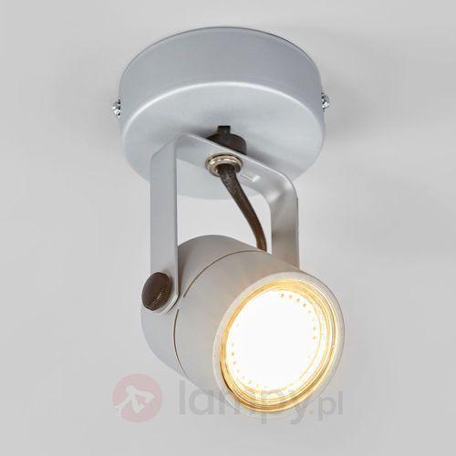 Spotline Kinkiet lampa oprawa ścienna spot 79 1x50w gu10 srebrnoszary qpar51 132024 wyprzedaż!!!ostatnia sztuka!!! (4024163103428)