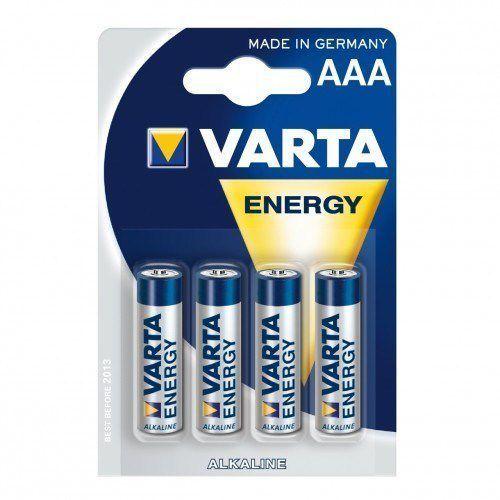 Varta  baterie alkaliczne r3 aaa 4szt energy