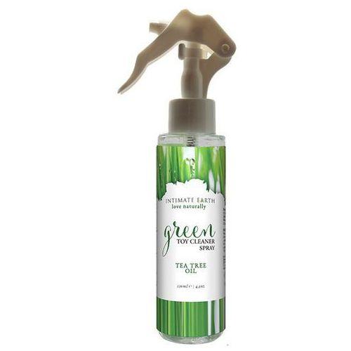 Spray czyszczący akcesoria - green tea toycleaner spray 125 ml marki Intimate earth