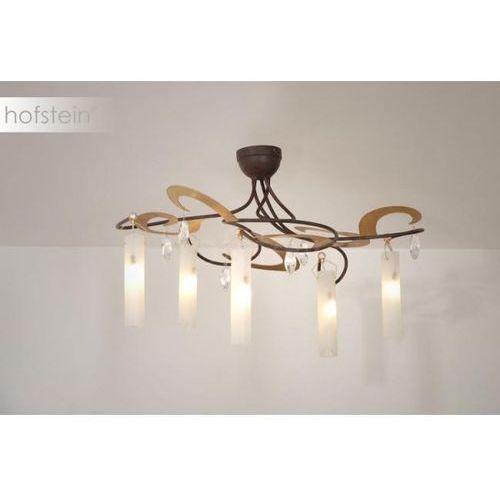 casino lampa sufitowa brązowy, złoty, 5-punktowe - - nowoczesny - obszar wewnętrzny - casino - marki Holländer