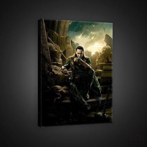 Obraz marvel thor: the dark world - loki ppd330 marki Consalnet