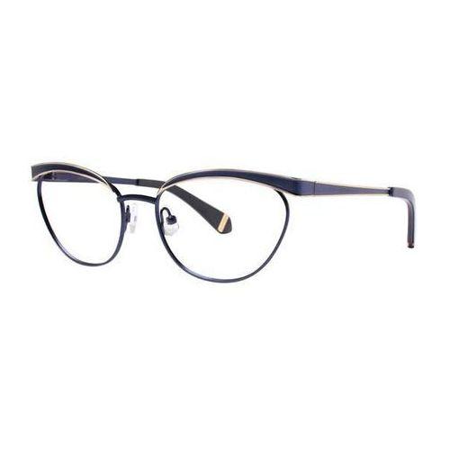 Zac posen Okulary korekcyjne moyra navy