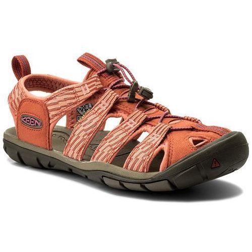 Sandały KEEN - Clearwater Cnx 1018500 Summer Fig/Crabapple, kolor pomarańczowy