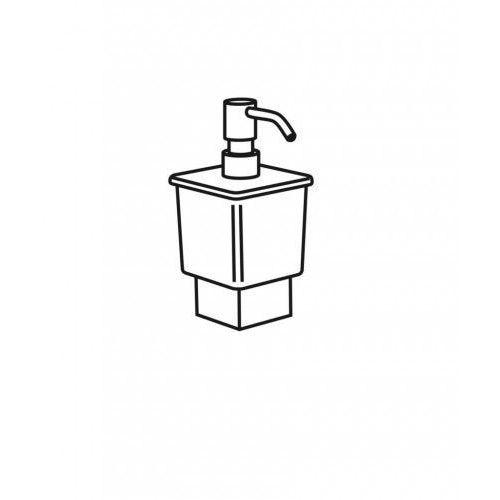 Stella szklany pojemnik 80.050 do dozownika 02.423 Oslo / bez uchwytu, z pompką