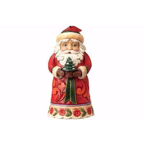 Mikołaj zawieszka mini santa (hanging ornament) 4058833 figurka ozdoba świąteczna marki Jim shore