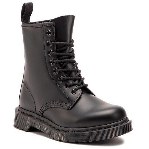 Glany DR. MARTENS - 1460 Mono 14353001 Black, kolor czarny