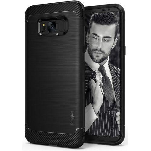 Odporne Etui Ringke Onyx Samsung S8 - Czarne, kolor czarny