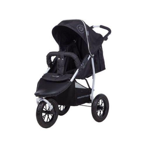 knorr-baby Wózek sportowy Joggy S Happy Colour czarny (4250341309997)