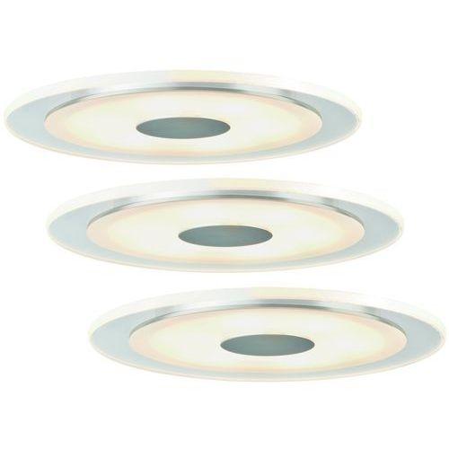 Prosta oprawa wpuszczana LED Whirl 3 sztuki (4000870925430)