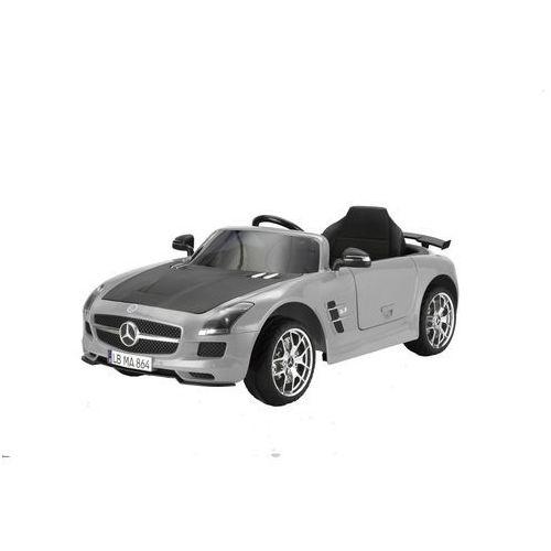 Hecht samochodzik dziecięcy - Mercedes Benz SLS AMG, szary (8595614920605)