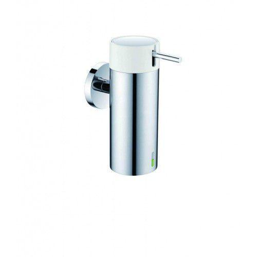 Stella dozownik do mydła w płynie 0,15L, chrom+pompka biała 17.020 chrom