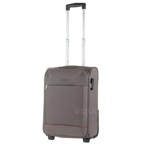 Walizka kabinowa Puccini Verona bagaż podręczny - szary (5906734070300)