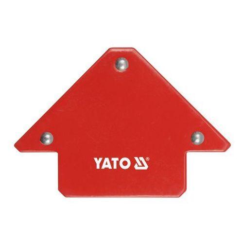 Kątownik spawalniczy magnetyczny 82 x 120 x 13 mm marki Yato