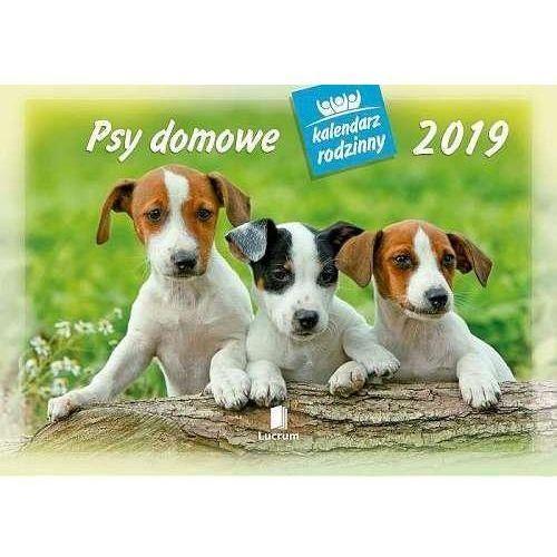 Kalendarz 2019 Rodzinny Psy domowe WL8 (5901397026381)