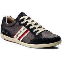 Sneakersy HELLY HANSEN - Kordel Leather 109-45.597 Navy/Natura/Sperry Gum, kolor niebieski