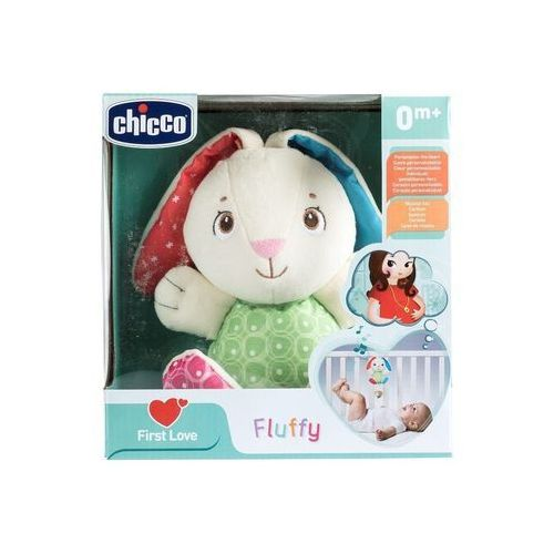 First Love Grający królik Fluffy - Chicco DARMOWA DOSTAWA KIOSK RUCHU