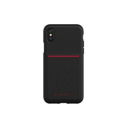 Bugatti Snap Case Flexcity iPhone X/Xs (czarny), kolor czarny