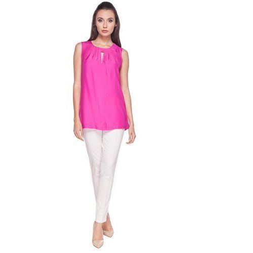Bluzka w kolorze fuksji - Bialcon, różowy, 1 rozmiar