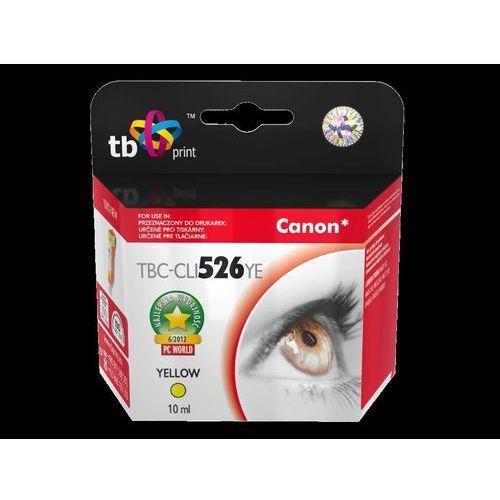 TB Print Tusz do Canon PIXMA iP 4850 ŻÓŁTY TBC-CLI526YE, kolor Żółty