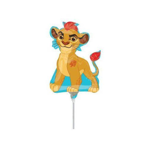Amscan Balon foliowy do patyka lwia straż - 25 cm - 1 szt.